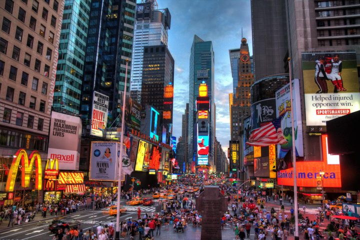 Time Square: quartiere di New York