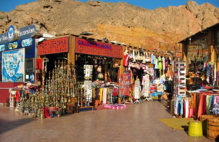 Ospitalità in Egitto: mercatini