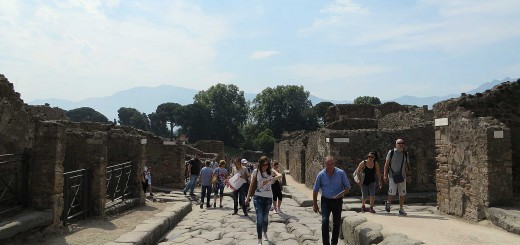 antica strada di pompei