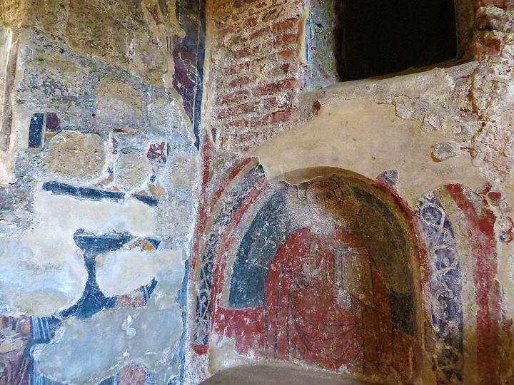 Affresco cappella di S. Calionio