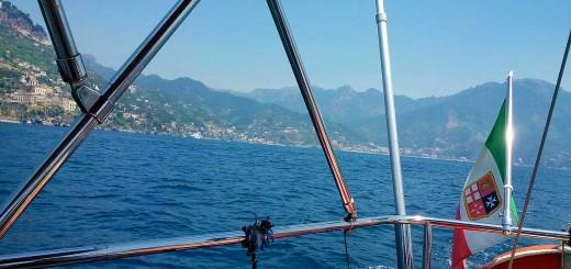 crociera costiera amalfitana in barca a vela