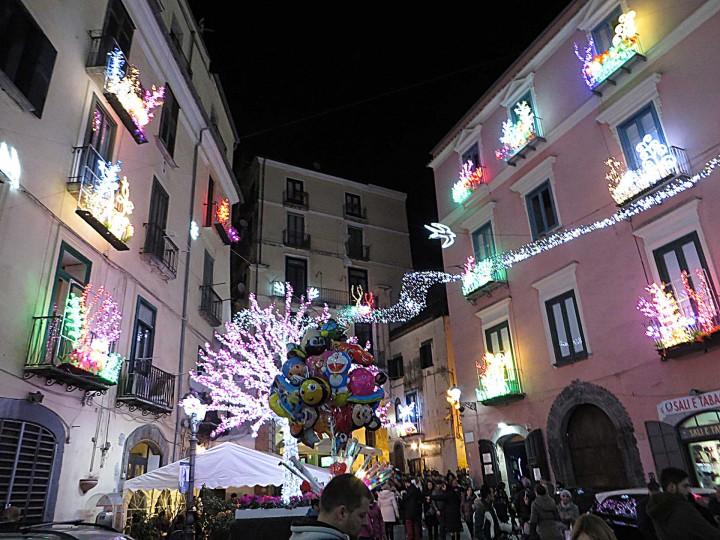 Salerno Luci D'artista centro storico