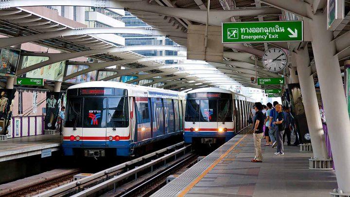 BTS Skytrain Bangkok: muoversi in thailandia