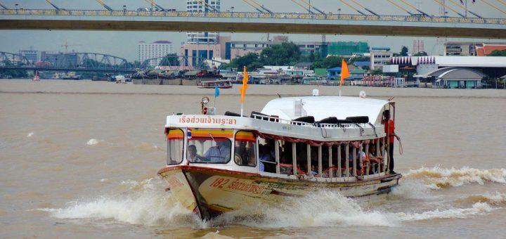 Battello Chao Phraya Express boat Bangkok