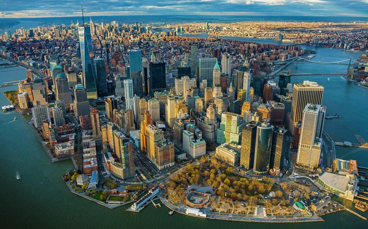 new york dall'elicottero