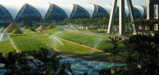 aeroporto di Suvarnabhumi Bangkok