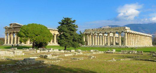 Paestum: scavi archeologici