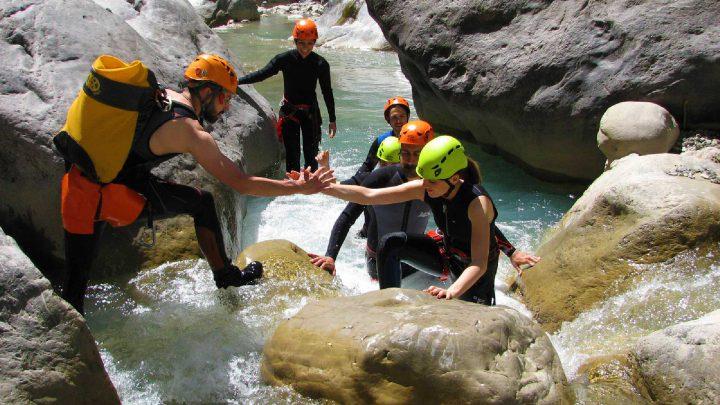 canyoning calabria