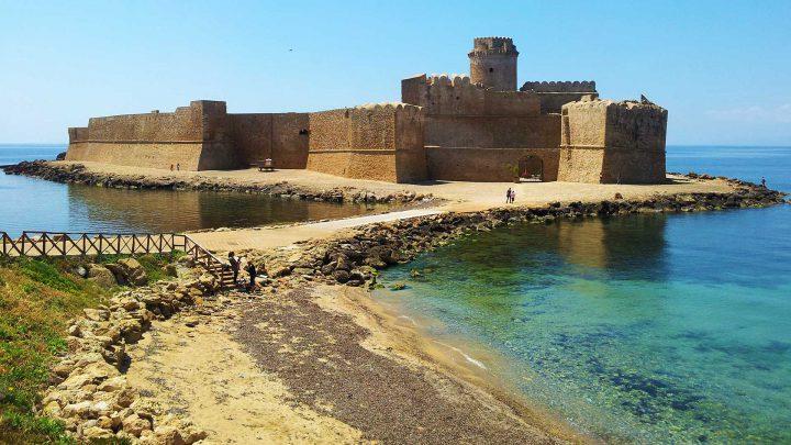 castello fortezza aragonese - le castella